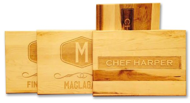 Custom Engraved Cutting Boards - Personalized Cutting Boards