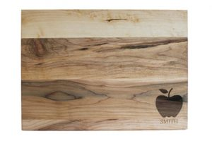 Custom Engraved Cutting Boards - Personalized Cutting Boards - The Apple Board