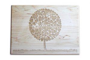 Family Tree Cutting Board