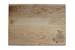 Flower Cutting Board