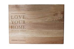 Custom Engraved Cutting Boards - Personalized Cutting Boards - Corporate Gift Cutting Board