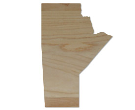 Wholesale Province Shaped Cutting Boards - Manitoba