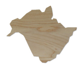 Wholesale Province Shaped Cutting Boards - New Brunswick
