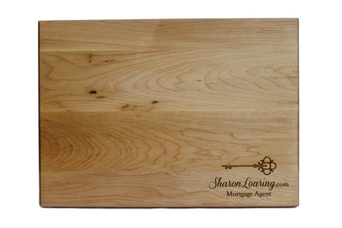 Custom Engraved Cutting Boards - Personalized Cutting Boards - Closing Gift Cutting Board