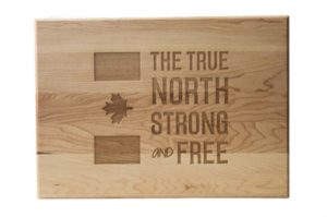 Custom Engraved Cutting Boards - Personalized Cutting Boards - Canadian Cutting Board