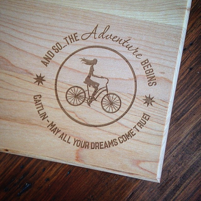 New Custom Engraved Cutting Board