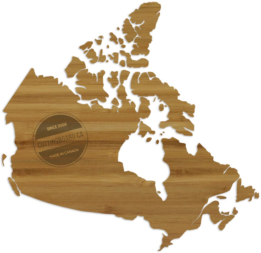 Wholesale Province Shaped Cutting Boards - Canada - Thank you