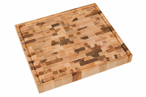 Wholesale Butcher Blocks 16x18 Grooved