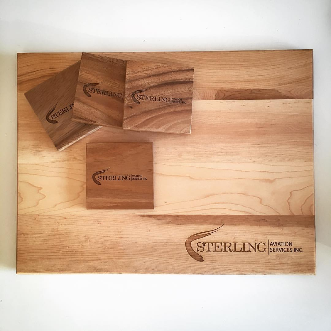 Custom Corporate Cutting Boards Sterling