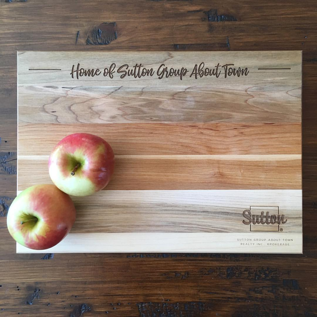 Wholesale Real Estate Closing Gift Cutting Board House Warming Gift - Sutton