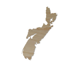 Wholesale Province Shaped Cutting Boards - Nova Scotia