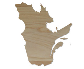 Wholesale Province Shaped Cutting Boards - Quebec