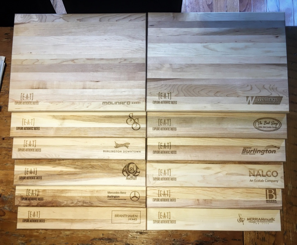 Corporate Gift Cutting Boards