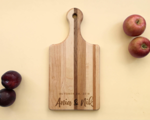Personalized Wood Serving Board