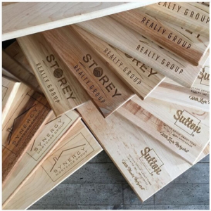 Engraved Wood Cutting Boards