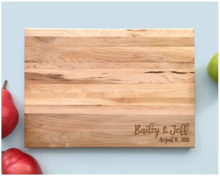 Personalized Cutting Boards Canada