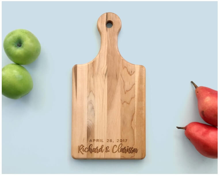 Personalized Cutting Boards Canada Paddle Board