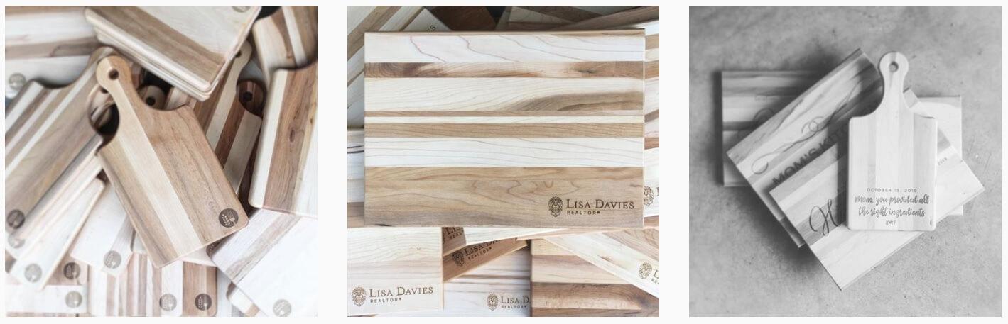 Bulk Cutting Boards Customized