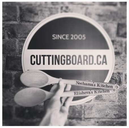 Personalized Wood Spoons Cuttingboard Canada