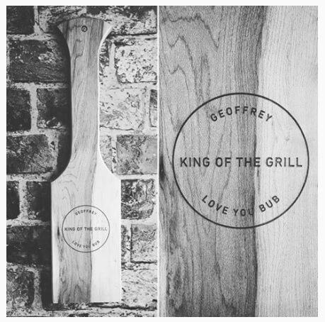 Wood BBQ Grill Scraper