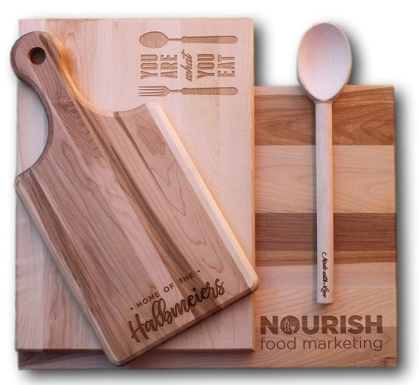 Personalized Cutting Boards - Custom Cutting Boards Canada