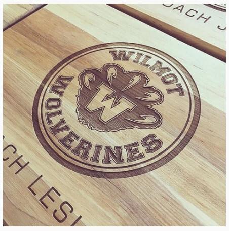 School Cutting Board Program - Wilmont-Wolverines